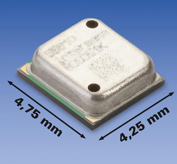 Das Drucksensormodul MS5561C besteht aus einem SMD-Hybrid, auf dem ein Druckdie und ein Verstärker-A/D-Interface-IC aufgebracht sind