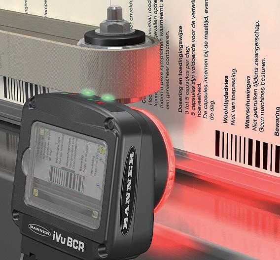 TURCK (Halle 9, Stand H55): In Schutzart IP67 gehalten ist der Data-Matrix-/Barcode-Leser »iVu BCR«. Das Gerät im Vision-Sensor-Format ist von Turcks Optik-Partner Banner Engineering entwickelt. Es erkennt 2D-Data-Matrix- und 1D-Barcodes, bei Bedarf sogar bis zu zehn unterschiedliche Codes in einem Bild. Neben Data-Matrix-Codes erfasst es folgende Barcode-Typen: Code128, Code39, CODABAR, Interleaved 2 of 5, EAN13, EAN8, UPCE, Postnet, IMB und Pharmacode. Die Lesezeiten betragen etwa 90 ms für einen Data-Matrix-Code und rund 30 ms für einen Barcode.
