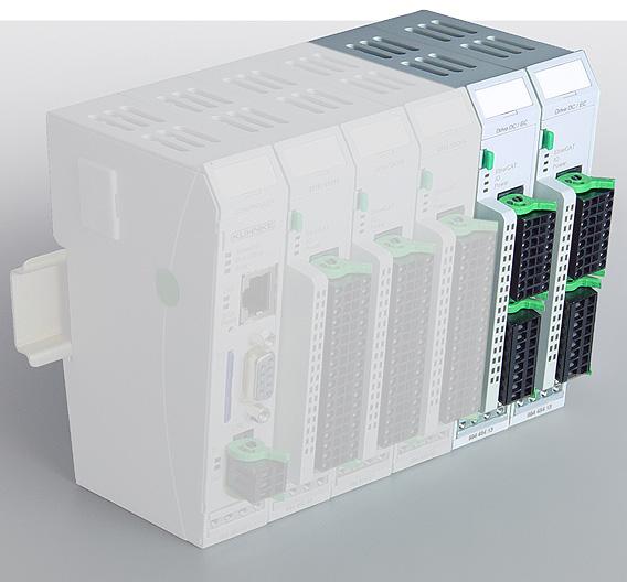 KUHNKE AUTOMATION (Halle 24, Stand A19, (23)): Mit dem Modul »Ventura FIO Drive Control« lassen sich Stellantriebe und Kleinservos regeln, und zwar über EtherCAT als Datenbus. In Kuhnkes Automatisierungssystem »Ventura« übernehmen die »Ventura-FIO«-Module die schnelle Kommunikation mit den Sensoren, Aktoren und Antrieben. »Ventura FIO Drive Control« erlaubt die Steuerung einer großen Anzahl von EC- und DC-Stell- und Positionierantrieben im Leistungsbereich bis 250 W. Die Antriebe lassen sich somit problemlos in eine Maschinensteuerung mit EtherCAT-Kommunikation einbinden. Die Programmierung erfolgt über CoDeSys und MC-Bausteine nach PLCopen. Gängige Funktionen stehen in einer Bibliothek als Bausteine bereit.