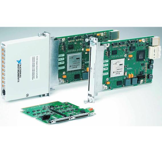 Die FPGA-basierte Mess-, Steuer- und Automatisierungs-Modul-Familie FlexRIO ist nun um mehrere PXI-Express-Versionen erweitert worden.