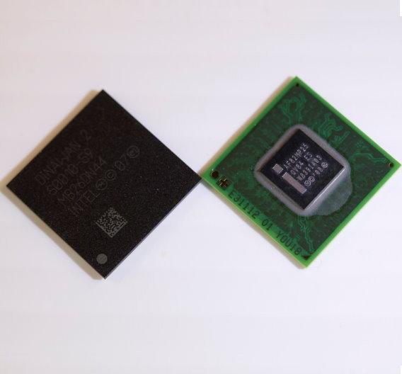 Intels Atom-Z6xx-Prozessor Z6xx (Lincroft) und Platform Controller Hub MP20.