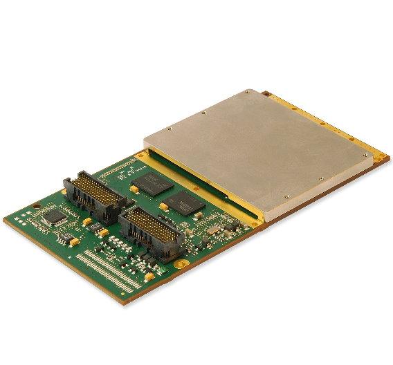 Eine Grafikkarte im XMC-Format ist »XMCGA6« von GE Intelligent Plattforms.