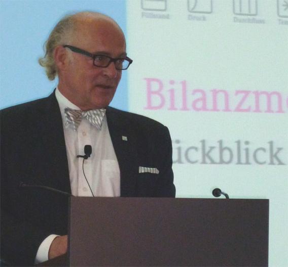 Klaus Endress, Endress+Hauser: »Wir haben uns schneller von den Auswirkungen der weltweiten Wirtschafts- und Finanzkrise erholt als erwartet.«