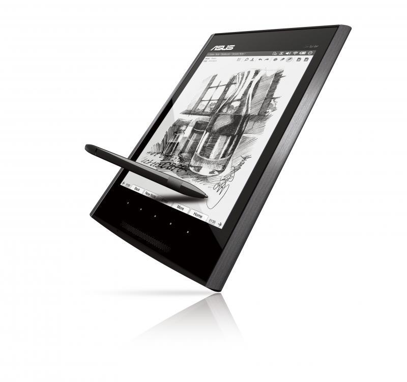 Als eines der ersten Geräte mit Windows Embedded Compact 7 stellte Asus diese Woche auf der Computex in Taipeh das Eee Tablet vor. Es dient als e-Reader, hat eine Kamera und USB- sowie MicroSD-Anschlüsse.