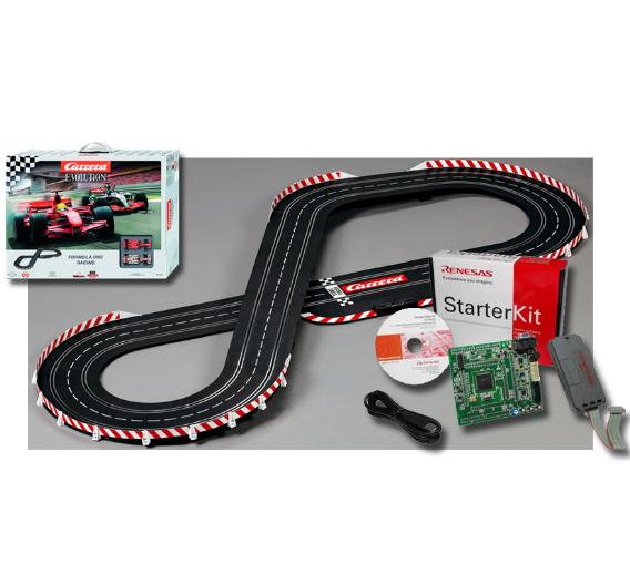 """Starterkit """"Renesas RX – Carrera Evolution"""" von Glyn"""