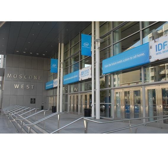 Das IDF 2010 findet wie jedes Jahr im Moscone-Center in San Francisco statt.