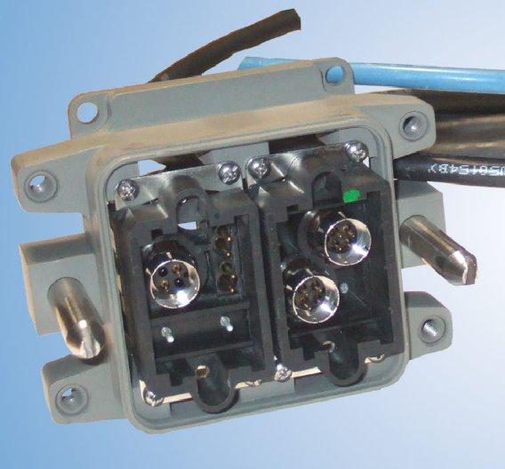 Miniatur-Multifunktionskupplung als Weiterentwicklung der rechtwinkligen Hochleistungskuppler von Hypertac.