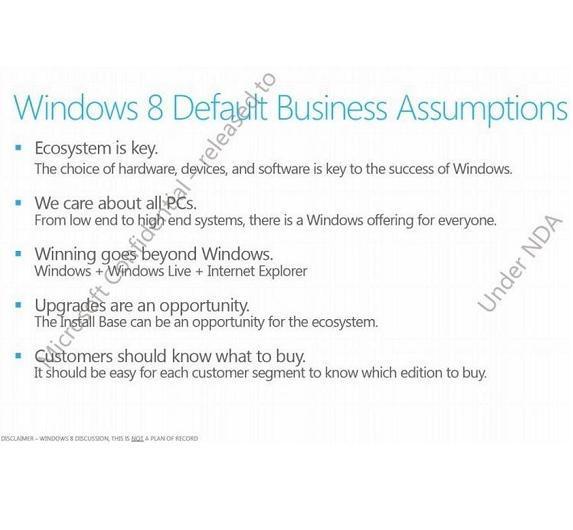 Wie schon CEO Steve Ballmer auf der CES angekündigt hatte, soll Windows zukünftig auf allen Geräten laufen - Intel oder ARM.