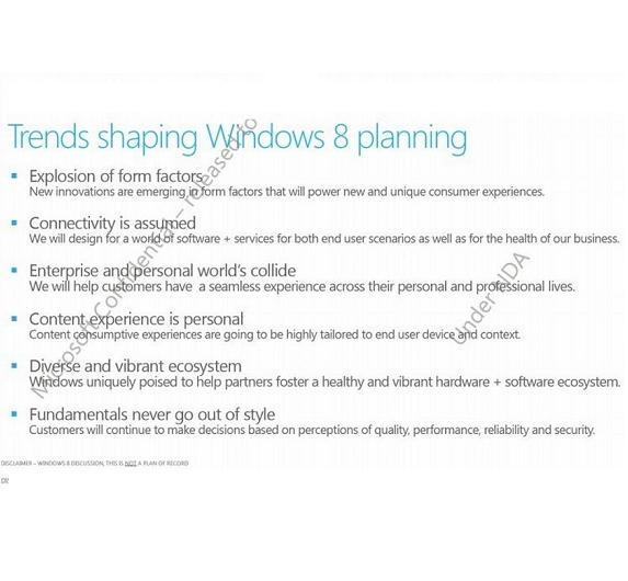 Microsoft will mit Windows 8 auf Veränderungen bei Formfaktoren der Geräte und Nutzerverhalten eingehen.