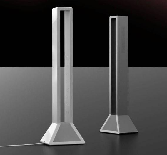 Der LED-Hersteller Everlight Electronics bietet nicht nur LEDs an sondern auch Leuchten wie das 40 cm hohe Model »Crane«, das 12 W aus 100 bis 240 V Netzspannung aufnimmt.