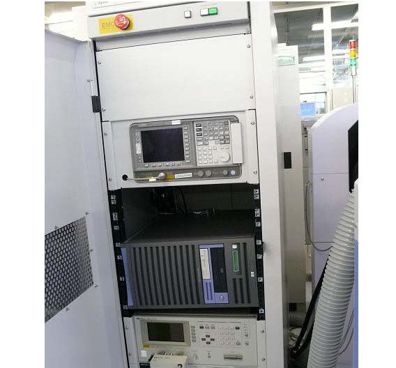 Ebenfalls ein Testsystem ist der 4071A von AGILENT. Es wiegt 500 kg und misst 1x1,3x1,8 m.