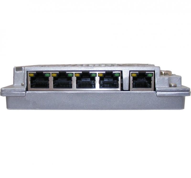 Dank fünffachem Gigabit-Ethernet ist die Tough Box auch für Kommunikationsaufgaben gut gerüstet.