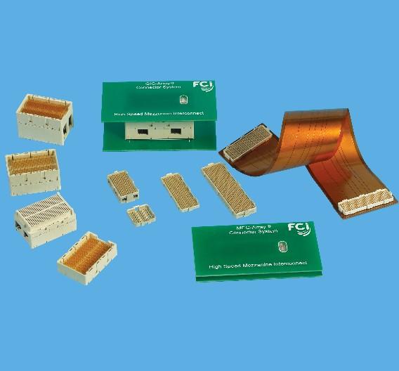 Für High-Speed-Verbindungen in der Medizinelektronik: Mezzanine-Steckverbinder