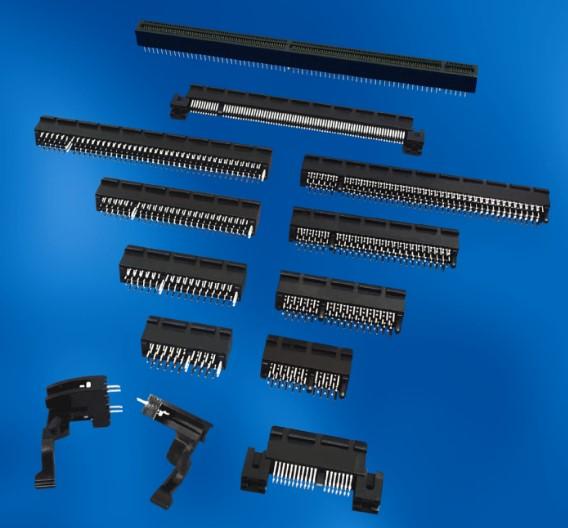 Stecker für PCI Express: Inzwischen ist PCI Express der Standard der Wahl bei PC-basierten Systemen und setzt sich allmählich auch bei medizinischen Geräten durch.