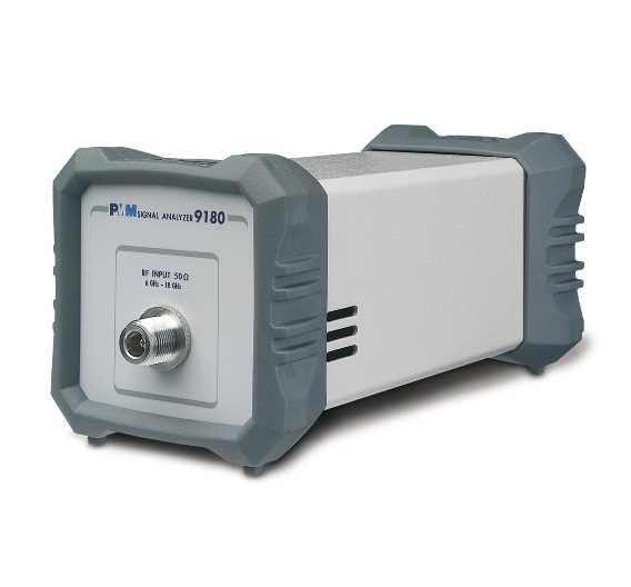 Das Modul PMM 9180 erhöht den Frequenzbereich des PMM 9010 auf bis zu 18 GHz