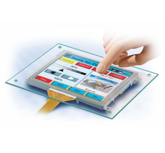 Das kapazititve Touch-System »easyTouch« von Data Modul erfüllt auch raue Industrieanforderungen.