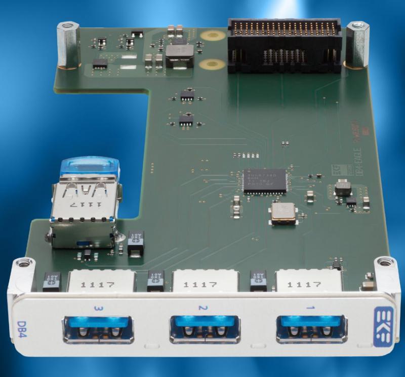 Der interne USB-Port eignet sich für einen Speicher oder Dongle, der nicht offen zugänglich sein soll.