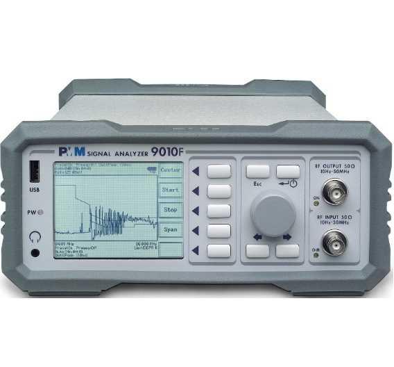 Dank der modularen Bauweise lässt sich der Frequenzbereich des PMM 9010F auf 3, 6 oder 18 GHz erweitern.