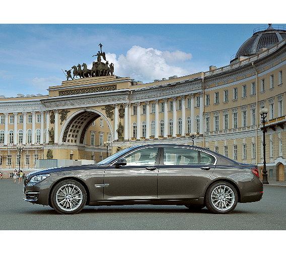 Die neue BMW 7er Langversion