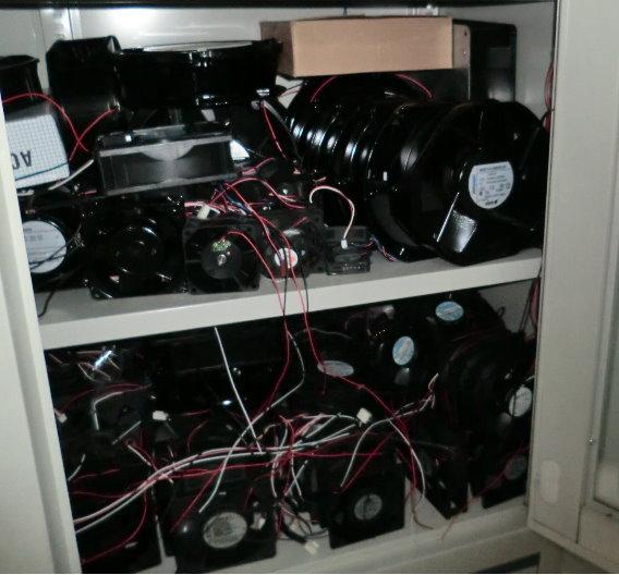 Die gefälschten Ventilatoren entsprechen nicht dem Qualitätsstandard.