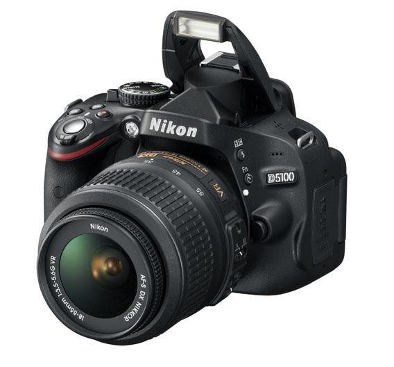 Die Nikon 5100D ist eine digitale Spiegelreflexkamera, die Nikon 2011 auf den Markt brachte. In ihr steckt ein  16,2-Megapixel-DX CMOS-Bildsensor. Mit der Kamera lassen sich außerdem HD-Videoaufnahmen machen.
