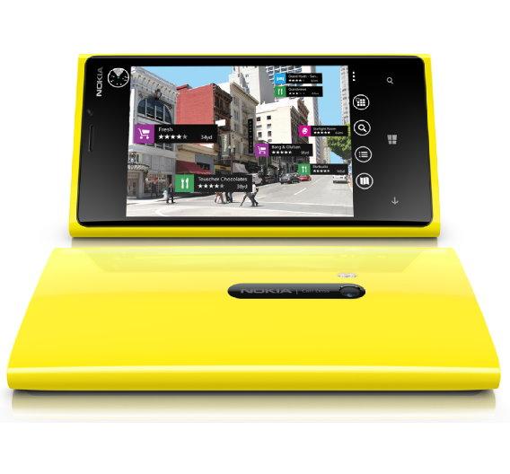 Das neue Smartphone Nokia Lumia 920.
