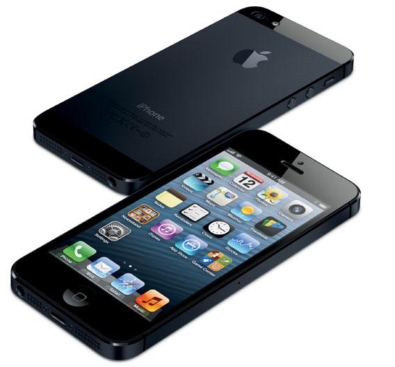 Das neue iPhone 5. Neben dem neuen A6-Prozessor kann es nun auch LTE.