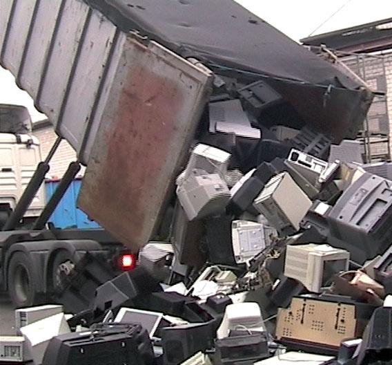 Sind die Geräte in so einem Zustand, sind sie für die Wiederverwendung nicht mehr zu gebrauchen.