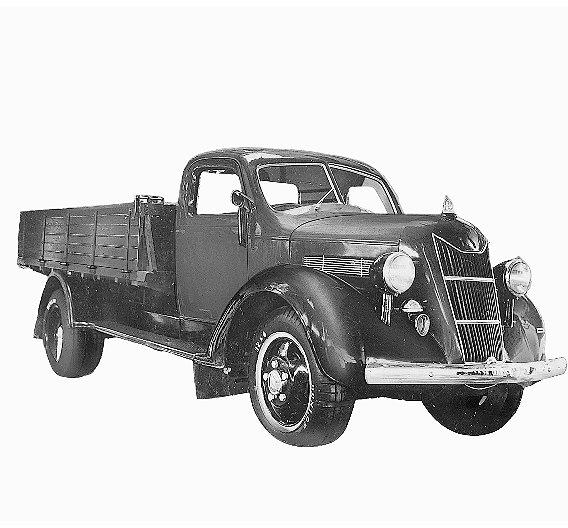 1935 hat Toyota seinen ersten Truck, das Modell G1, für den Verkauf in Japan gebaut.