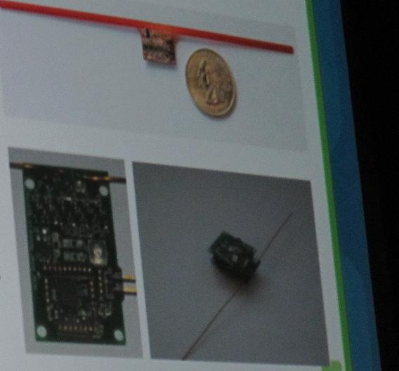Dieser Sensor zieht seine Energie aus Fernsehsignalen.