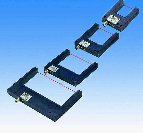 Bild 3: Laser-Gabelsensoren Typ »GLSK«