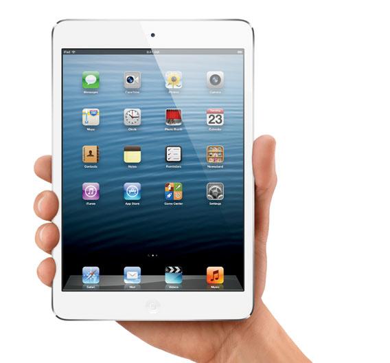 Das neue iPad mini mit 32 GB (weiß) kommt von Recom.