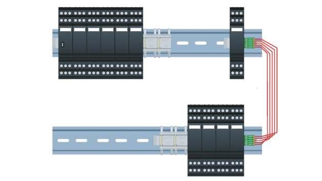 Ein Controller überwacht bis zu 28 Überspannungsschutzgeräte - so kann das System optimal an die Installationsumgebung angepasst und erweitert werden.