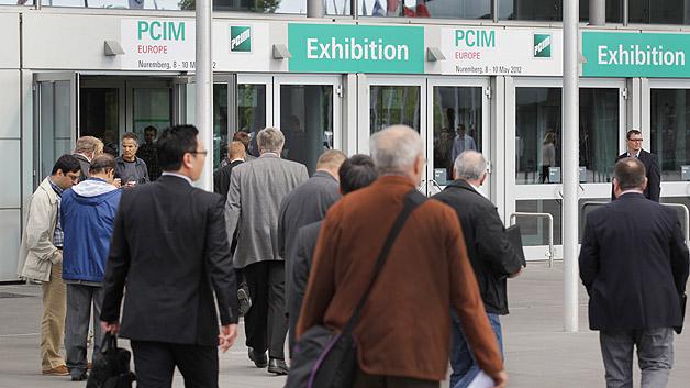Vom 8. bis 10. Mai 2012 präsentierte die Leistungselektronik-Branche ihre neuesten Entwicklungen auf der PCIM Europe in Nürnberg.