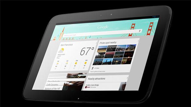 Die Realität 2013: Google hat mit dem Nexus 7 am 27.6.2012 sein erstes Tablet mit dem hauseigenen Betriebssystem Android vorgestellt. Am 13.11.2012 folgte das Nexus 10. Angeblich sollen pro Monat 1 Mio. Geräte verkauft werden.