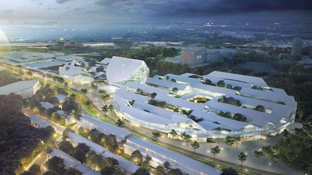 In Skolkovo soll das führende Forschungs- und Innovationszentrum Russlands entstehen – eingebettet in eine neue Stadt für bis zu 25.000 Bewohner. Neben den Forschungsgebäuden sind komfortable Wohngebäude, Geschäfte, Schulen, Kindergärten und Hotels geplant.