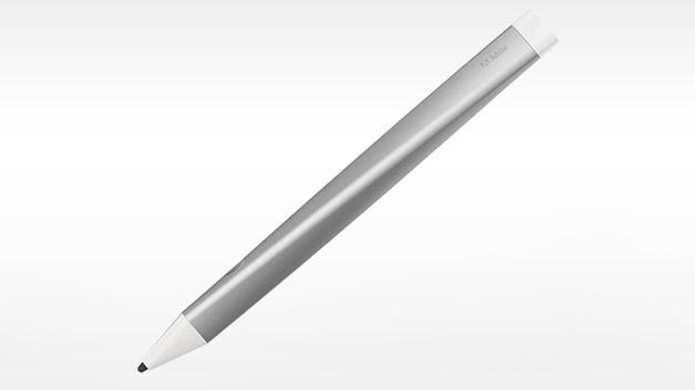 Für die Gestaltung der Hardware holte sich der Softwarekonzern externe Hilfe. Das Design wurde zusammen mit den Industriedesignern von Ammunition erstellt und die elektrische sowie mechanische Umsetzung erfolgte unter Mitwirken von MindTribe aus San Francisco. Der Stift hat durch seine Dreieckform, die nach oben hin gequetscht ist, eine ergonomisch abgestimmte Griffform.