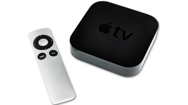 APPLE APPLE TV  1080p HD Filme erleben, Videos von YouTube und Vimeo abspielen, MLB-Spiele live oder on-demand, Streaming von iOS-Geräten über AirPlay, 802.11n WiFi. Inkl. APPLE Remote Fernbedienung, Netzkabel. Maße: ca. B9,8 x H2,3 x T9,8 cm.
