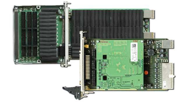 LEON Gen III mit KT-PXI-502 Schaltmatrix mit 128x4 Verbindungen