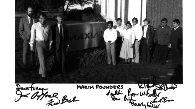 Die Gründer von Maxim Integrated