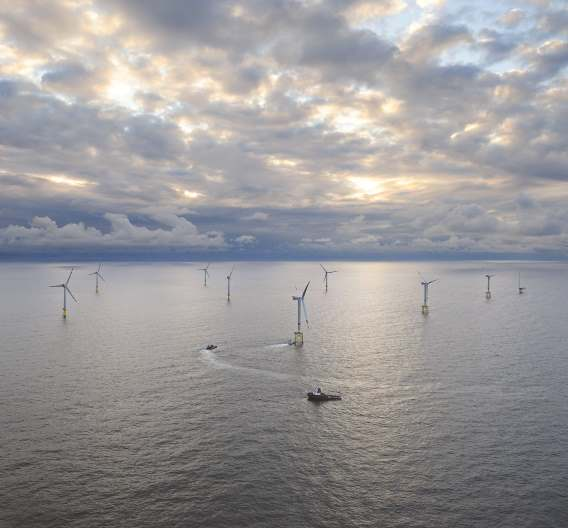 Test-Windpark »alpha ventus« in der Nordsee