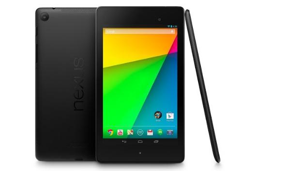 Das neu vorgestellte Google-Tablet Nexus 7: Im Vergleich zum Vorgängermodell bietet das aktuelle Nexus-7-Tablet Full-HD-Auflösung und einen schnelleren Prozessor: Statt des alten Tegra 3 verbaut Google im neuen Nexus 7 nun den Qualcomm Snapdragon S4 Pro mit 1,5 GHz, den Google bereits im Smartphone Nexus 4 einsetzt.
