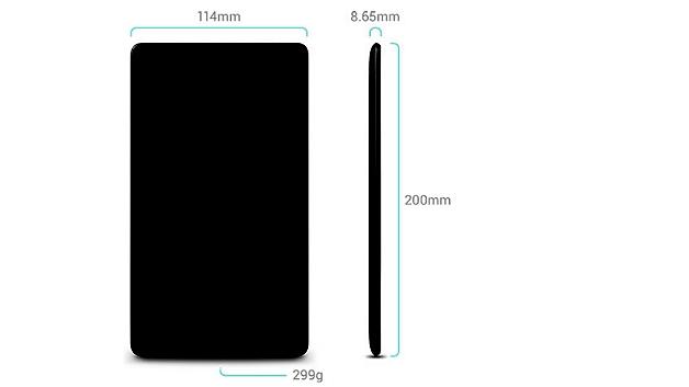 Das neue Nexus 7 ist im Vergleich zum Vorgängermodell deutlich flacher und etwas leichter geworden.