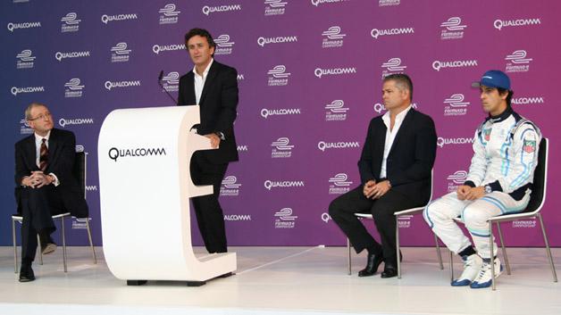 Qualcomm verkündet seine Partnerschaft mit der Formula E auf einem Presseevent in Berlin