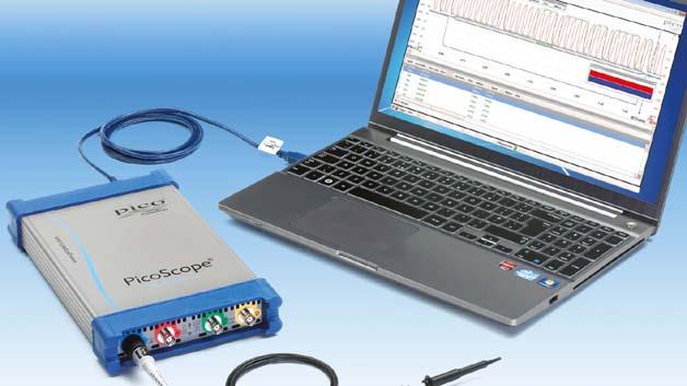 Die neuen Picoscope-6000-Oszilloskope arbeiten mit einem Host-Rechner über USB 3.0 Superspeed.
