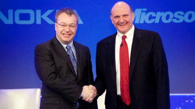 Microsoft-CEO Steve Ballmer  seinen Freund Stephen Elop bald wieder in Redmond begrüßen - als seinen Nachfolger?