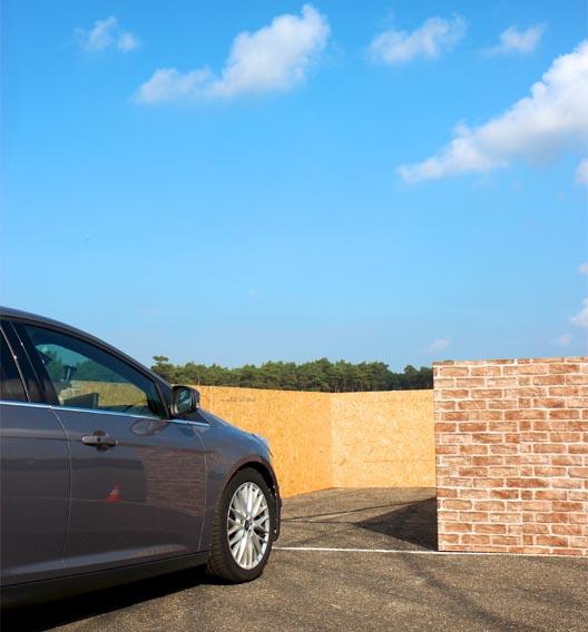 Im belgischen Lommel zeigt Ford die Umsetzung des vollautomatischen Parkassistenten in die Praxis.