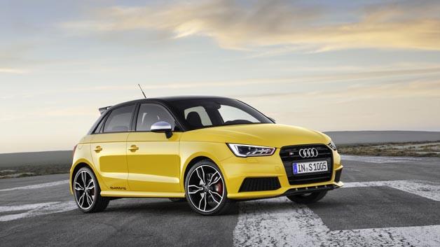 Von der Rennstrecke auf die Straße: Der Audi S1 und S1 Sportback.
