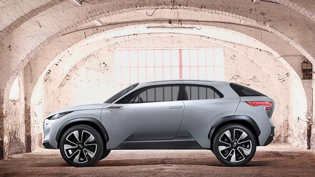Hyundai hat auf dem Genfer Automobilsalon (6. bis 16. März 2014) sein neues Konzeptfahrzeug Intrado vorgestellt.