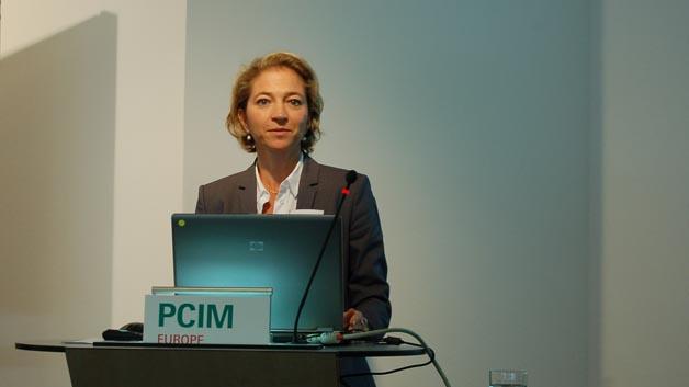 Lisette Hausser, Bereichsleiterin Mesago PCIM GmbH, war stolz auf das leichte Plus bei Aussteller- und Besucherzahlen der PCIM Europe 2014.